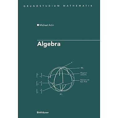 Algebra Aus Dem Englischen Ubersetzt Von Annette Acampo Grundstudium Mathematik German Edition (9783764359386)