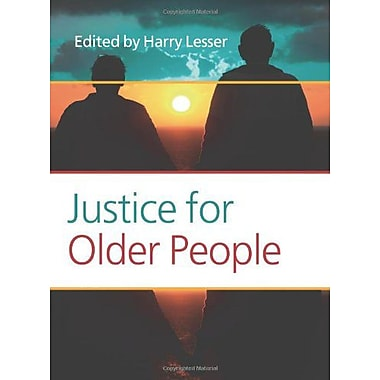Justice For Older People Values In Bioethics, New Book (9789042034907)
