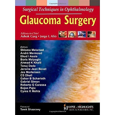 Surgical Techniques In Ophthalmology Glaucoma Surgery, New Book (9788184489583)