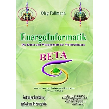 Energoinformatik Beta German Edition (9783844818048)