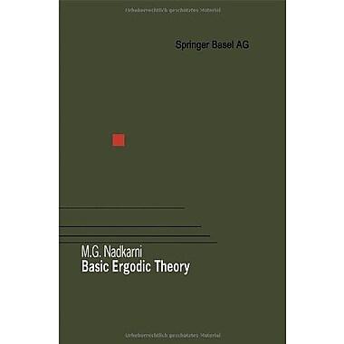 Basic Ergodic Theory Birkhauser Advanced Texts Basler Lehrbucher (9783764358167)