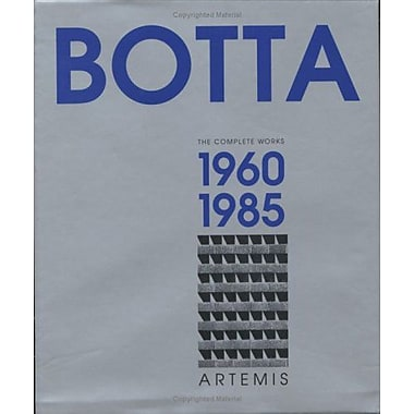 Mario Botta - Volume I 1960 - 1985 Vol 1, New Book (9783764355302)