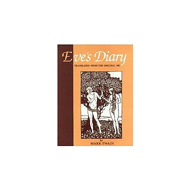 Eves Diary Translated From The Orginal Ms, New Book (9788176240345)