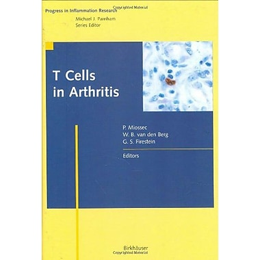 T Cells in Arthritis (Progress in Inflammation Research), Used Book (9783764358532)