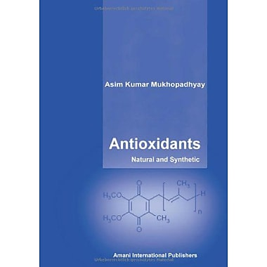 Antioxidants - Natural an Synthetic, New Book (9783938054055)