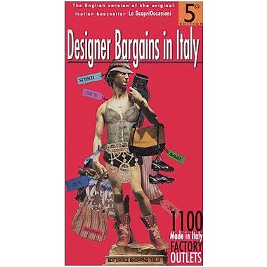 Designer Bargains in Italy, New Book (9788886132138)