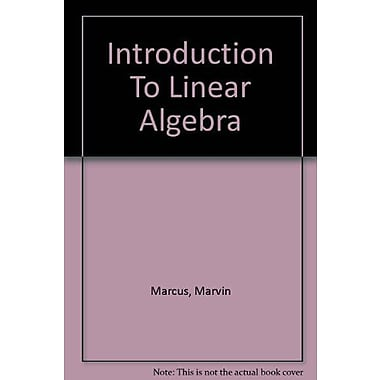 Introduction to Linear Algebra, New Book (9786001417351)