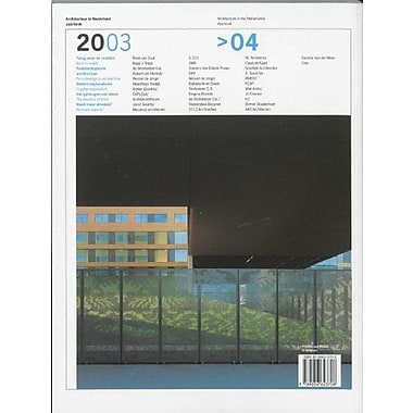 Architecture In The Netherlands, Yearbook 2003-2004, Used Book (9789056623708)