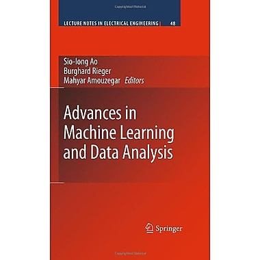 Advances in Machine Learning and Data Analysis (Lecture Notes in Electrical Engineering), New Book (9789048131761)