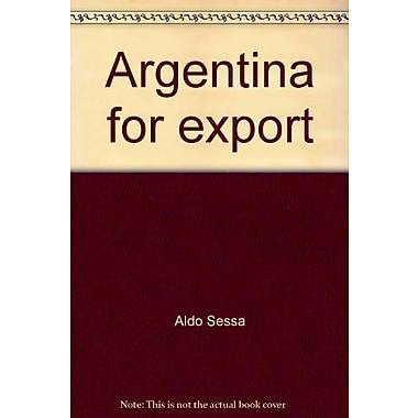 Argentina for export, New Book (9789509140103)