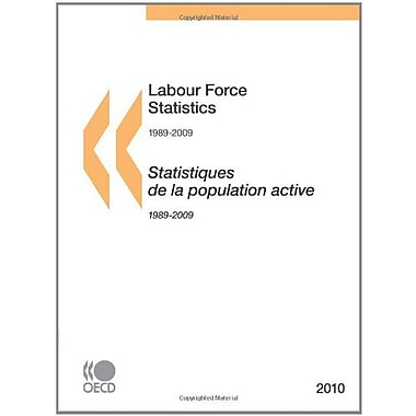 Labour Force Statistics 2010: Edition 2010, Used Book (9789264097575)