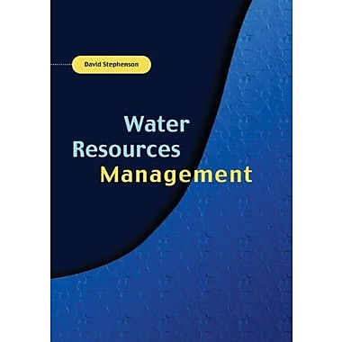 Water Resources Management, Used Book (9789058095732)