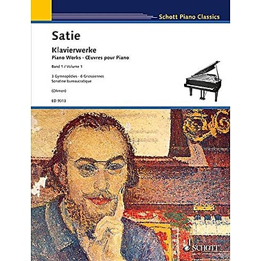 Erik Satie (Gymnopedies): Piano Works, New Book (9790001113878)
