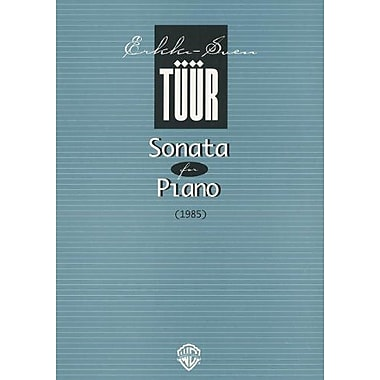 Sonata for Piano (1985), New Book (9789517574556)