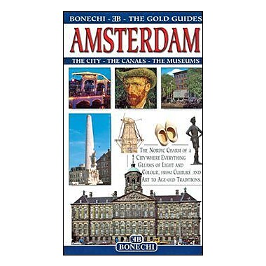 Amsterdam: The Gold Guides (Bonechi Gold Guides), New Book (9788847609549)