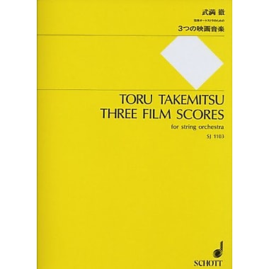 3 Film Scores: (1994/95) for String Orchestra - Score, Used Book (9784890664030)