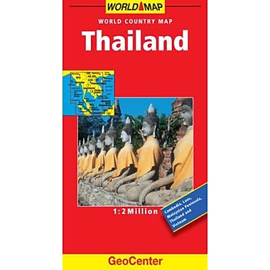 Thailand GeoCenter World Map, Used Book (9783829764636)