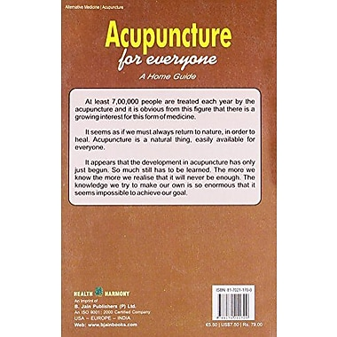 Acupuncture for Everyone: A Home Guide, New Book (9788170211709)