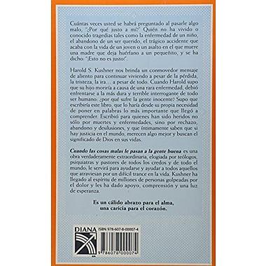 Cuando Las Cosas Malas Le Pasan A La Gente Buena (Spanish Edition) (9786078000074)
