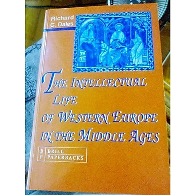 The Intellectual Life of Western Europe in the Middle Ages, Used Book (9789004096226)