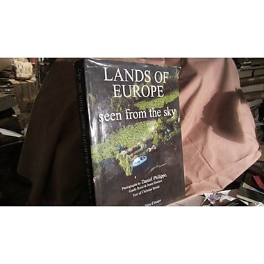 Lands of Europe Seen from the Sky, New Book (9789075268034)