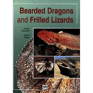 Bearded Dragons and Frilled Lizards, New Book (9783931587185)