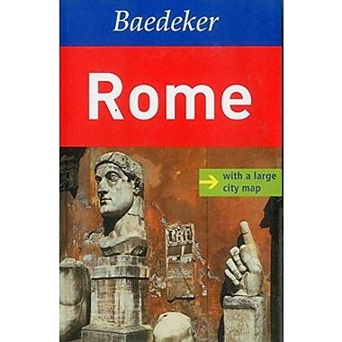 Rome Baedeker Guide (Baedeker Guides), Used Book (9783829764797)