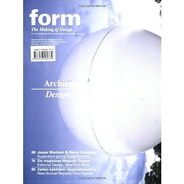 form, issue 210 (Zeitschrift Form), New Book (9783936560374)