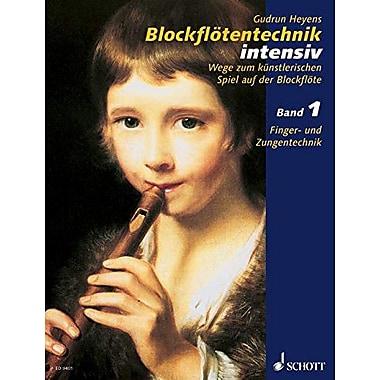 BLOCKFLOTENTECHNIK INTENSIV BOOK 1, New Book (9790001131216)