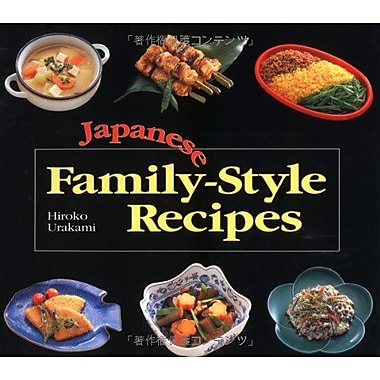 Japanese Family-Style Recipes, New Book (9784770015839)