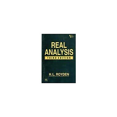 Real Analysis, Used Book (9788120309739)