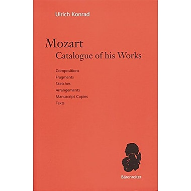 Mozart, Catalogue Of His Works (9783761818480)