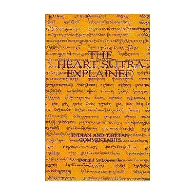 The Heart Sutra Explained: Indian and Tibetan Commentaries, Used Book (9788170302384)