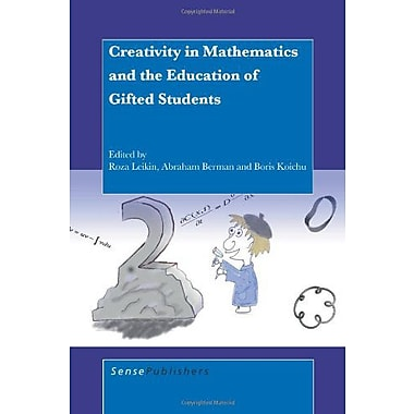 Creativity in Mathematics and the Education of Gifted Students, Used Book (9789087909338)
