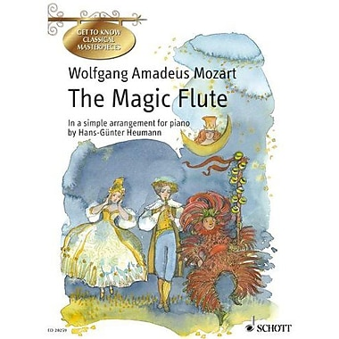 The Magic Flute in a Simple Arrangement for Piano, Used Book (9783795753085)
