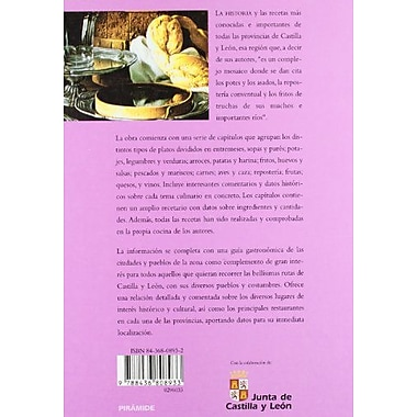 Cocina Y Gastronomia De Castilla Y Leon/ Cuisine And Gastronomy Of Castile And Leon (Spanish Edition) (9788436808933)