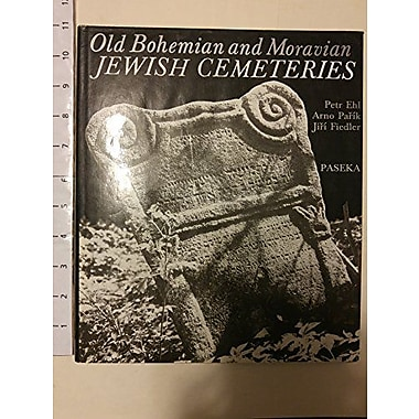Old Bohemian and Moravian Jewish Cemeteries, Used Book (9788085192124)