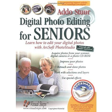 Digital Photo Editing for Seniors: Learn How to Edit Your Digital Photos with Arcsoft PhotoStudio (Compute, Used (9789059050648)