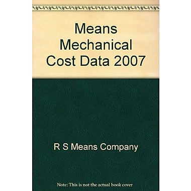 Means Mechanical Cost Data 2007, New Book (9788762986411)