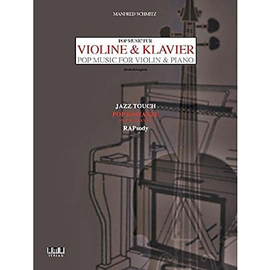 Schmitz : Pop Music for Violin and Piano, New Book (9783932587443)