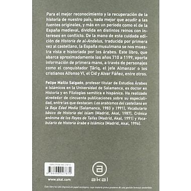 Historia De Al-Andalus / History of Al-Andalus (Spanish Edition), New Book (9788446027874)