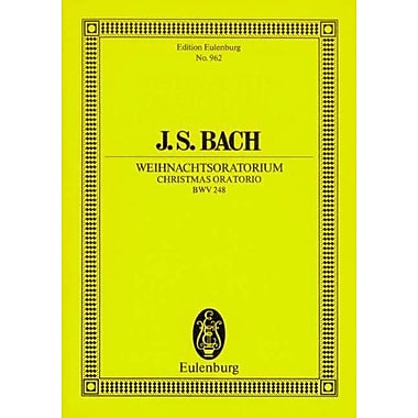 CHRISTMAS ORATORIO BWV248 STUDY SCORE, Used Book (9783795762766)