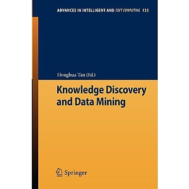 Knowledge Discovery And Data Mining (Advances In Intelligent And Soft Computing) (9783642277078)