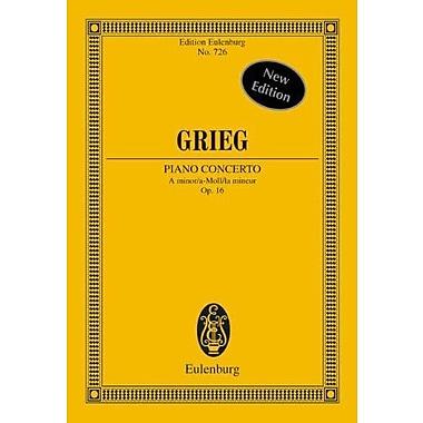 PIANO CONCERTO OP16 A MINOR STUDY SCORE, Used Book (9783795762896)