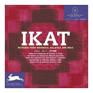 Ikat Patterns + CD ROM (Agile Rabbit Editions), Used Book (9789057680588)