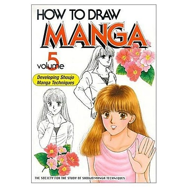 How to Draw Manga Volume 5 (How to Draw Manga (Graphic-Sha Numbered)), Used Book (9784889960815)