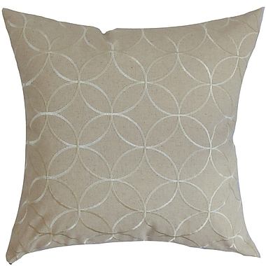The Pillow Collection Dittany Geometric Cotton Throw Pillow Cover