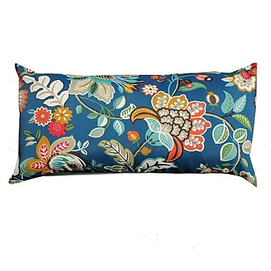 TK Classics Wild Flower Outdoor Lumbar Pillow (Set of 2)