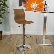 Matrix Adjustable Height Swivel Bar Stool; Camel