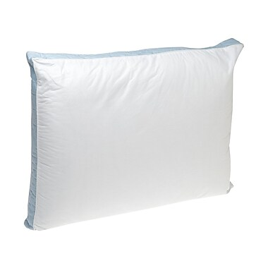 Perfect Fit Industries Firm Density 233 Thread-Count Quilted Sidewall Polyfill Pillow (Set of 2)